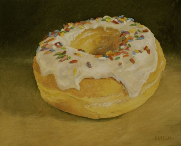 Donut with Sprinkles 600x743